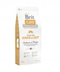 Brit Care Grain-free Senior&Light Salmon & Potato 3kg