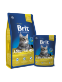 Brit Premium Cat Adult Salmon 8 kg