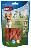 Trixie  Premio OMEGA STRIPES Light - kuřecí maso 100g