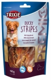 Trixie  Premio DUCKY STRIPES Light - kachní maso 100g
