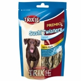 Trixie Premio SUSHI TWISTERS Light - 100% rybí copánky 60g