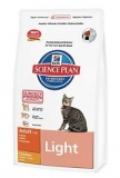 Hill's Feline Dry Adult Light 10kg