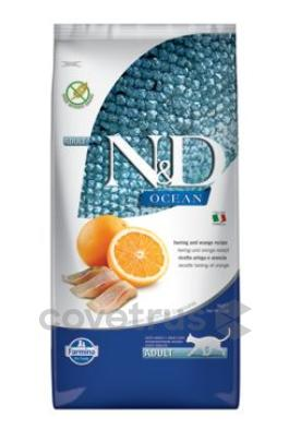 N&D OCEAN CAT Adult Herring & Orange 10kg