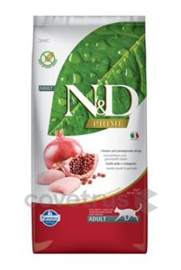 N&D PRIME CAT Adult Chicken & Pomegranate 5kg