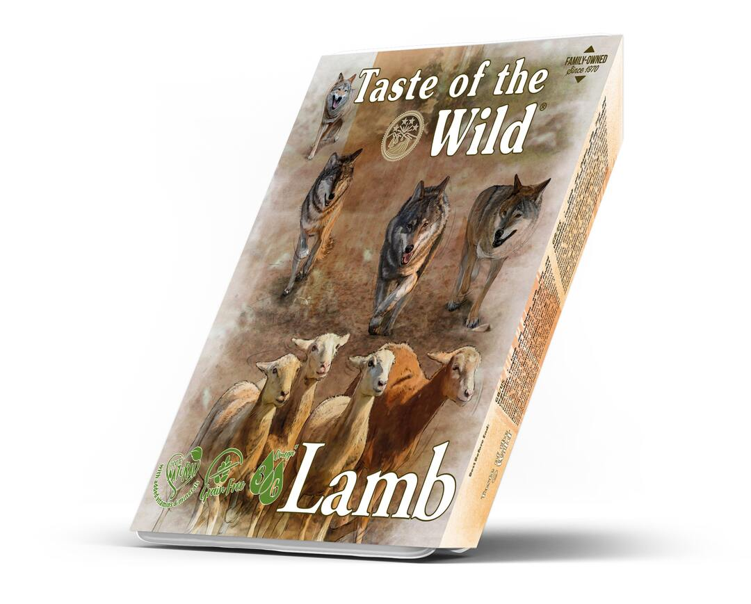 Taste of the Wild Lamb and Chicken Dog Tray 390 g