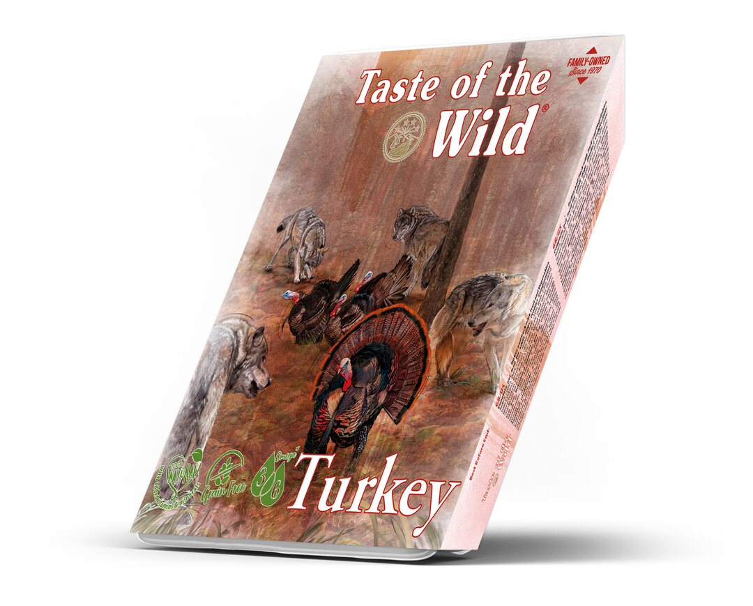 Taste of the Wild Turkey and Duck Dog Tray 390 g