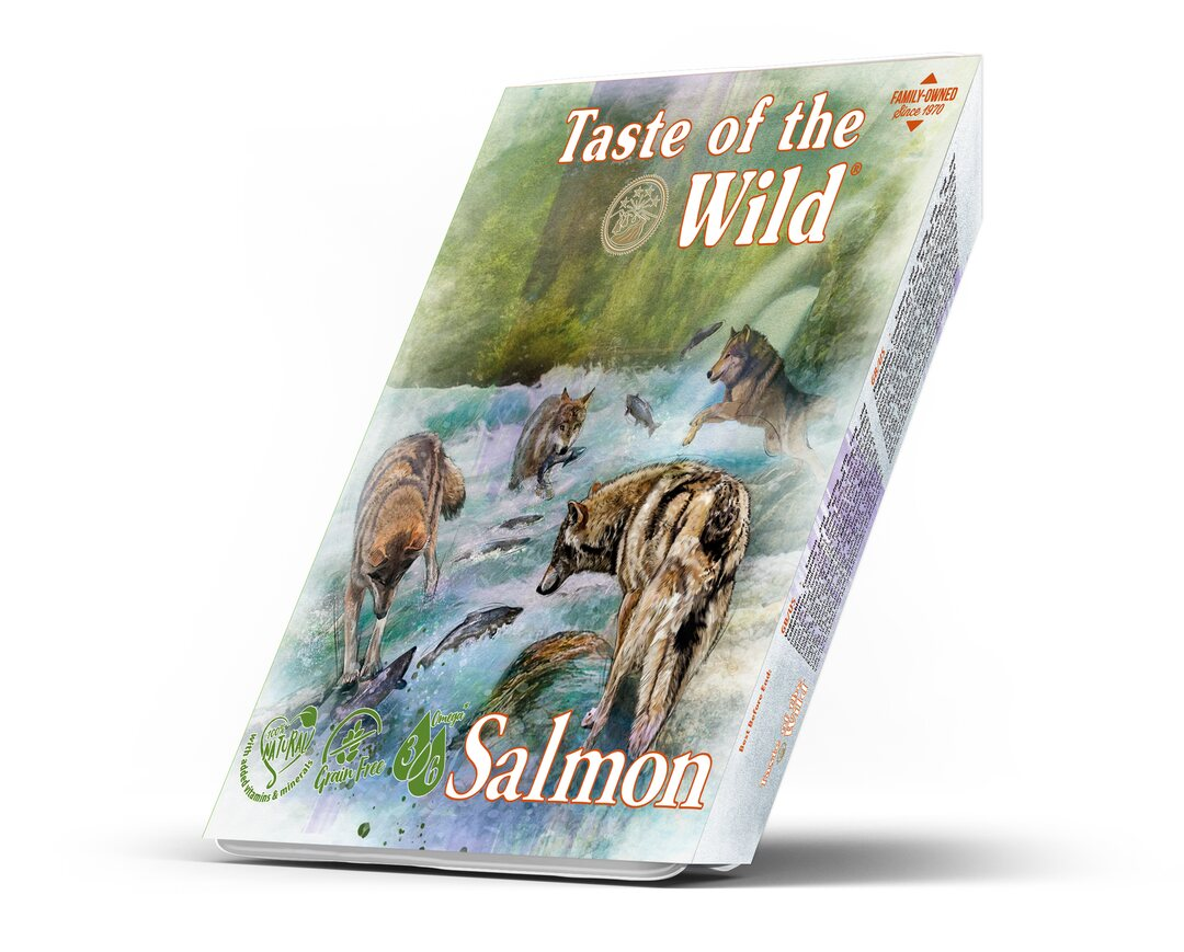 Taste of the Wild Salmon and Herring Dog Tray 390 g