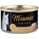 Miamor Feine Filets tuňák & sýr jelly 100 g