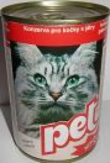 Pet Katze s játry 855g