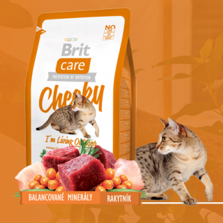 Brit Care Cat Cheeky I´m Living Outdoor 0,4kg