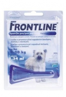 Frontline Spot-On Dog M sol 1x1,34ml MONO - modrý