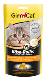 GIMCAT Kase-rollies skin and coat 40g