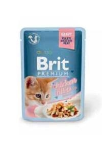 Brit Premium Cat D Fillets in Gravy for Kitten 85g
