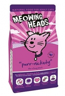MEOWING HEADS Purr-Nickety 250g