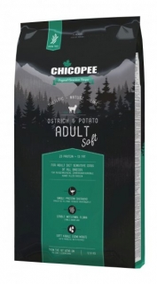 CHICOPEE HOLISTIC SOFT ADULT OSTRICH-POTATO 12 kg