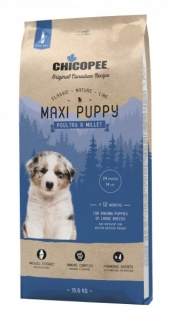 CHICOPEE CLASSIC NATURE MAXI PUPPY POULTRY-MILLET 15 kg