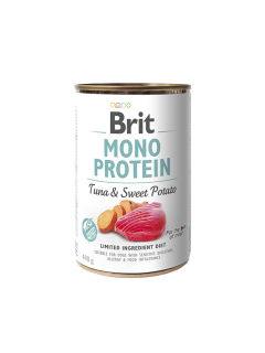 Brit Dog konz Mono Protein Tuna & Sweet Potato 400g