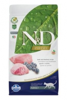 N&D PRIME CAT Adult Lamb & Blueberry 1,5kg