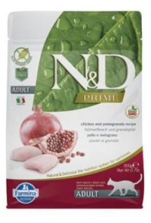N&D PRIME CAT Adult Chicken & Pomegranate 300g