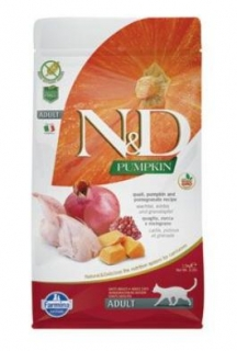 N&D GF Pumpkin CAT Quail & Pomegranate 300g