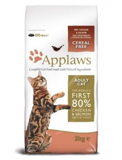 Applaws Adult Cat Chicken & Salmon 2kg - granule pro kočky